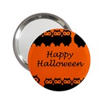Happy Halloween - owls 2.25  Handbag Mirrors Front