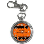 Happy Halloween - owls Key Chain Watches Front