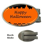 Happy Halloween - owls Money Clips (Oval)  Front