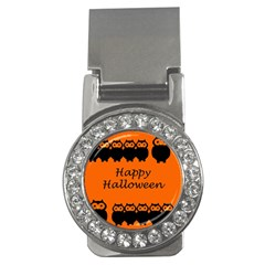 Happy Halloween - owls Money Clips (CZ)