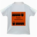 Happy Halloween - owls Kids White T-Shirts Back
