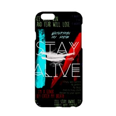 Twenty One Pilots Stay Alive Song Lyrics Quotes Apple iPhone 6/6S Hardshell Case