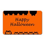 Happy Halloween - owls Magnet (Rectangular) Front