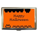 Happy Halloween - owls Cigarette Money Cases Front