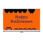 Happy Halloween - owls Business Card Holders Front