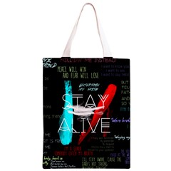 Twenty One Pilots Stay Alive Song Lyrics Quotes Classic Light Tote Bag