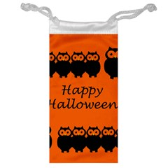 Happy Halloween - owls Jewelry Bags
