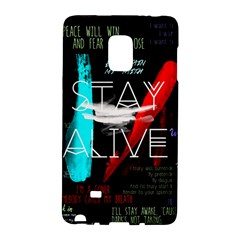 Twenty One Pilots Stay Alive Song Lyrics Quotes Galaxy Note Edge