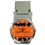 Happy Halloween - owls Money Clip Watches Front