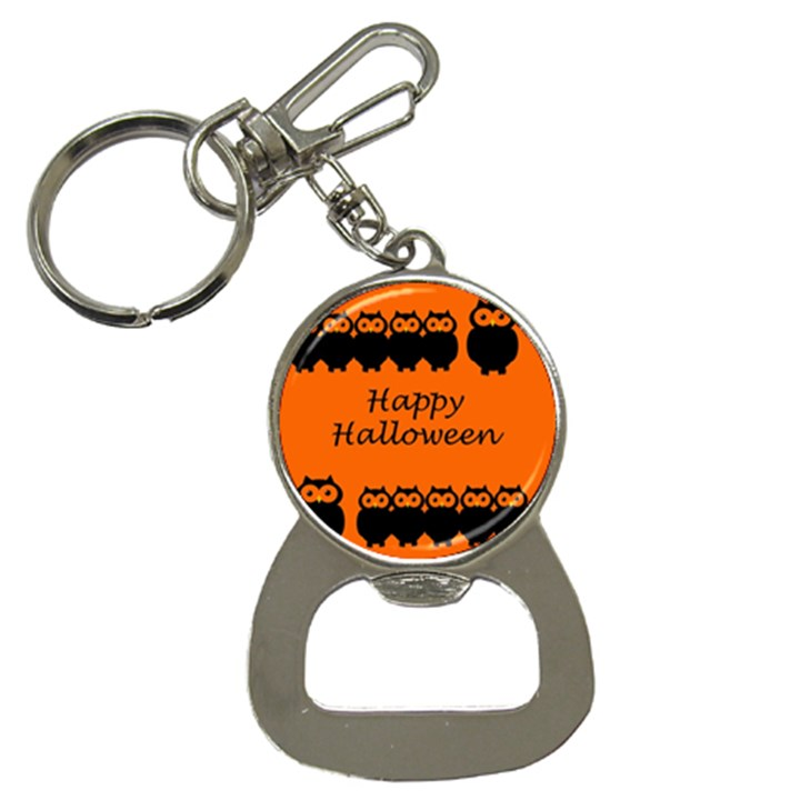 Happy Halloween - owls Bottle Opener Key Chains