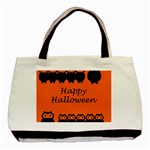 Happy Halloween - owls Basic Tote Bag Front