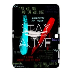 Twenty One Pilots Stay Alive Song Lyrics Quotes Samsung Galaxy Tab 4 (10 1 ) Hardshell Case
