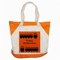 Happy Halloween - owls Accent Tote Bag