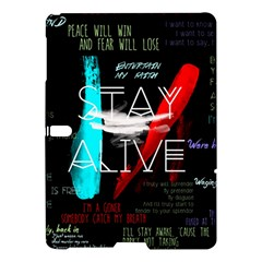 Twenty One Pilots Stay Alive Song Lyrics Quotes Samsung Galaxy Tab S (10.5 ) Hardshell Case