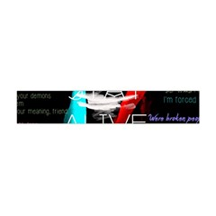 Twenty One Pilots Stay Alive Song Lyrics Quotes Flano Scarf (Mini)