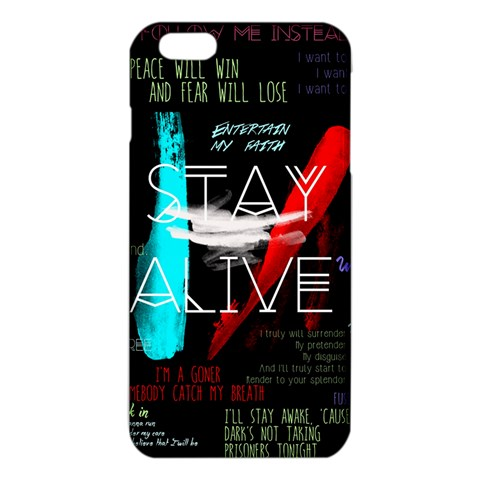 Twenty One Pilots Stay Alive Song Lyrics Quotes iPhone 6 Plus/6S Plus TPU Case