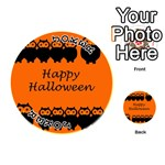 Happy Halloween - owls Playing Cards 54 (Round)  Front - Joker1