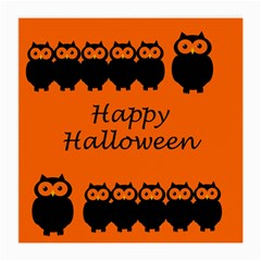 Happy Halloween - owls Medium Glasses Cloth (2-Side)