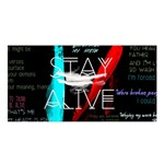 Twenty One Pilots Stay Alive Song Lyrics Quotes Satin Shawl Front