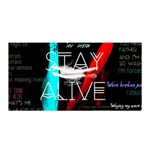 Twenty One Pilots Stay Alive Song Lyrics Quotes Satin Wrap Front