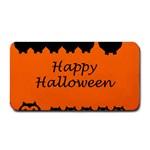 Happy Halloween - owls Medium Bar Mats 16 x8.5 Bar Mat - 1