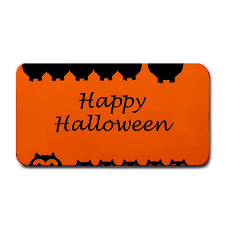 Happy Halloween - owls Medium Bar Mats