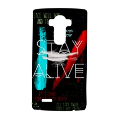 Twenty One Pilots Stay Alive Song Lyrics Quotes LG G4 Hardshell Case