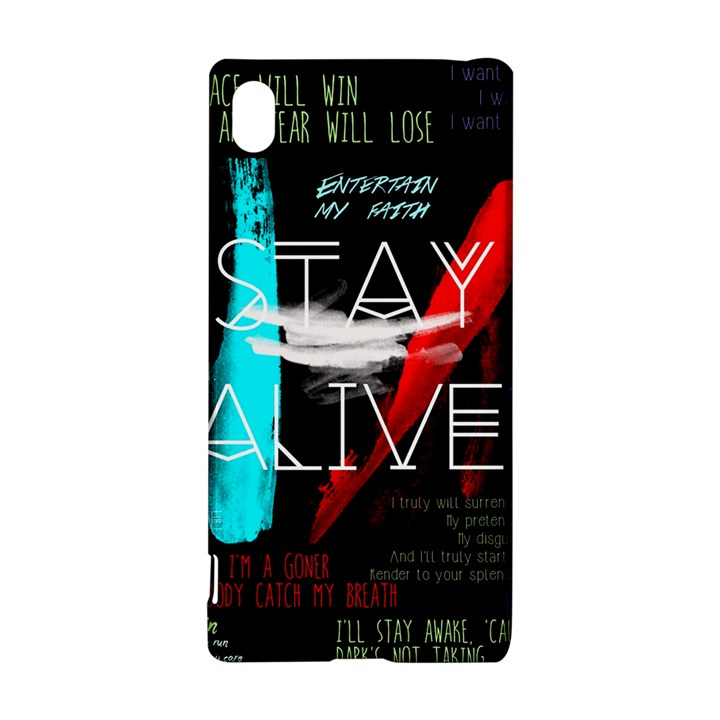 Twenty One Pilots Stay Alive Song Lyrics Quotes Sony Xperia Z3+