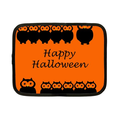 Happy Halloween - owls Netbook Case (Small)