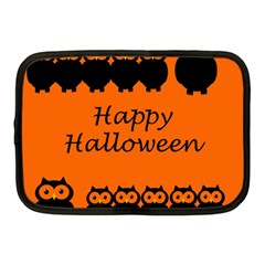 Happy Halloween - owls Netbook Case (Medium)