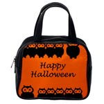 Happy Halloween - owls Classic Handbags (One Side) Front