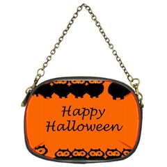 Happy Halloween   Owls Chain Purses (one Side)