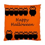 Happy Halloween - owls Standard Cushion Case (Two Sides) Back