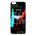 Twenty One Pilots Stay Alive Song Lyrics Quotes Apple Seamless iPhone 6 Plus/6S Plus Case (Transparent) Front