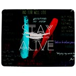 Twenty One Pilots Stay Alive Song Lyrics Quotes Jigsaw Puzzle Photo Stand (Rectangular) Front
