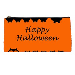 Happy Halloween - owls Pencil Cases