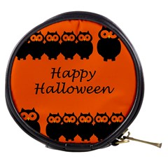 Happy Halloween - owls Mini Makeup Bags