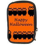Happy Halloween - owls Compact Camera Cases Front