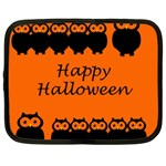 Happy Halloween - owls Netbook Case (XXL)  Front