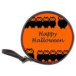 Happy Halloween - owls Classic 20-CD Wallets Front