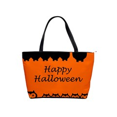 Happy Halloween - owls Shoulder Handbags