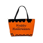 Happy Halloween - owls Shoulder Handbags Back