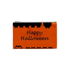 Happy Halloween   Owls Cosmetic Bag (small)