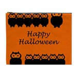 Happy Halloween - owls Cosmetic Bag (XL) Front