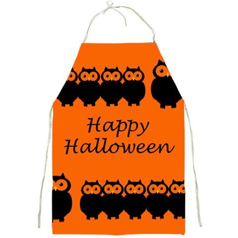 Happy Halloween - owls Full Print Aprons