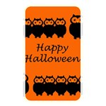 Happy Halloween - owls Memory Card Reader Front