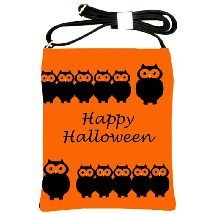 Happy Halloween - owls Shoulder Sling Bags