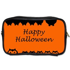 Happy Halloween   Owls Toiletries Bags