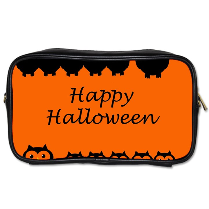 Happy Halloween - owls Toiletries Bags