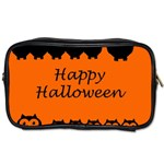 Happy Halloween - owls Toiletries Bags 2-Side Front